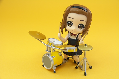 りっちゃん&ドラムセット