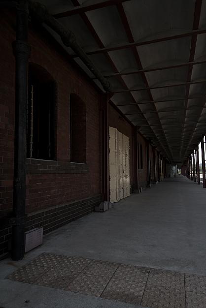 赤レンガ倉庫付近