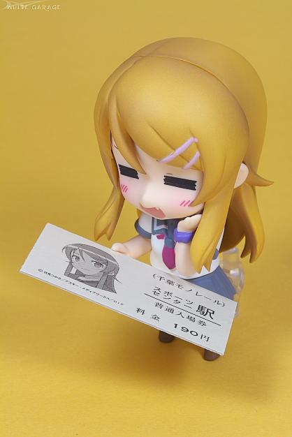 『俺の妹がこんなに可愛いわけがない』×「千葉モノレール」コラボ記念切符