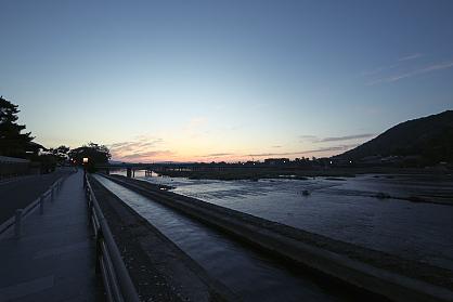 渡月橋&桂川