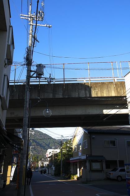 嵐山駅付近